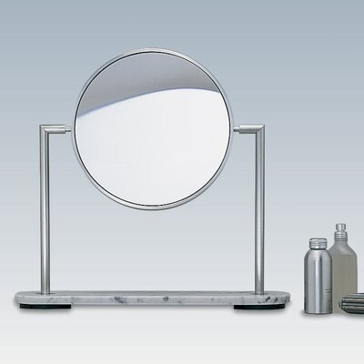 WS Bath Collections Mirror Pure TS1 5X Magnifying Makeup Mirror