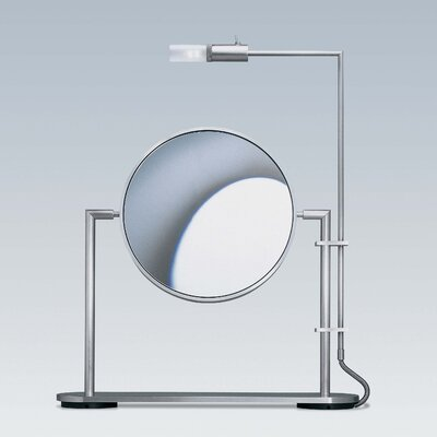 WS Bath Collections Mirror Pure TS1 5X Magnifying Makeup Mirror with Light