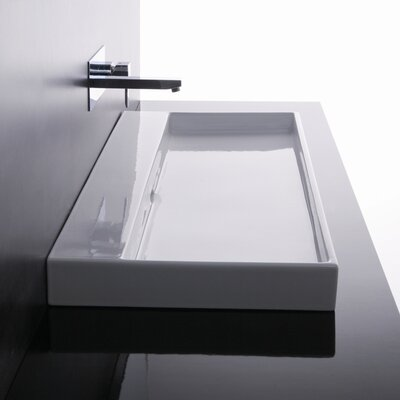 Ceramica I Urban Ceramic Bathroom Sink - Urban 100