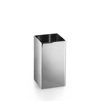 WS Bath Collections Saon Stainless Steel Square Tumbler