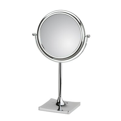 WS Bath Collections Mirror Pure Doppiolo Magnifying Cosmetic Mirror