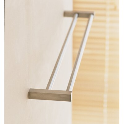 WS Bath Collections Metric Double Towel Bar