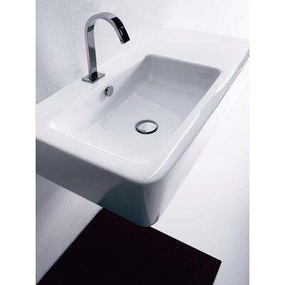 Kerasan Ego Wall Mounted / Vessel Bathroom Sink - Ego 3244