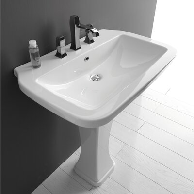 Ceramica Valdama Nova Wall Mounted / Vessel Bathroom Sink - Nova 75C