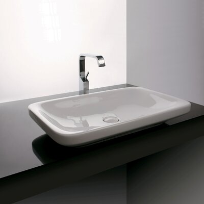 Ceramica Valdama Start Wall Mounted / Vessel Bathroom Sink - Start 72C
