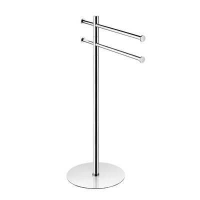 "WS Bath Collections Kubic Class 33"" Towel Stand"