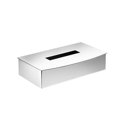 WS Bath Collections Kubic Class Tissue Box
