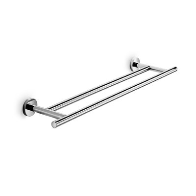 WS Bath Collections Spritz Double Towel Bar