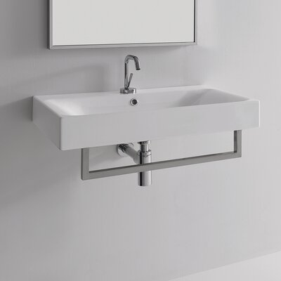 White Mounted Bathroom Sink | Wayfair