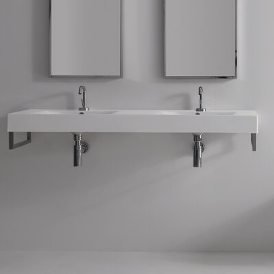 Kerasan Cento Wall Mounted / Vessel Bathroom Sink - Cento 3536