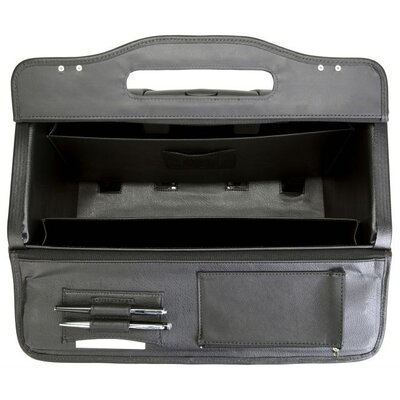 Korchmar Mobile Value Wheeled Catalog Case in Black