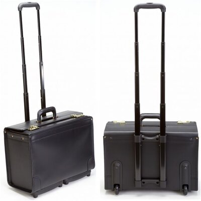 Korchmar Mobile Maximizer Wheeled Catalog Case in Black