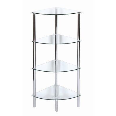 Urban Designs Membrillo 4 Shelf Corner Accent Shelf