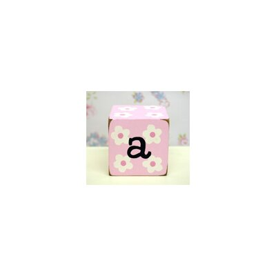 "New Arrivals ""a"" Letter Block in Pink"