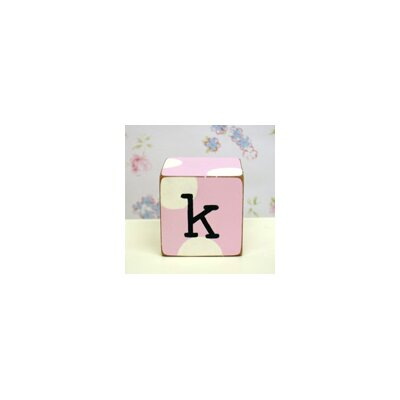"New Arrivals ""k"" Letter Block in Pink"