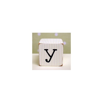 "New Arrivals ""y"" Letter Block in Green"