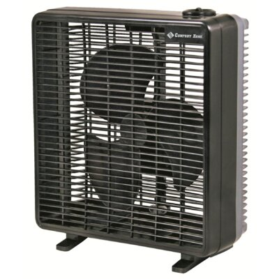 "Howard Berger 3 Speed 10"" Box Fan"