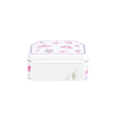 Mele Kelsey Girl's Glitter Fly Musical Ballerina Jewelry Box