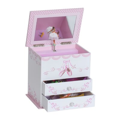 Mele & Co. April Girl's Musical Ballerina Jewelry Box