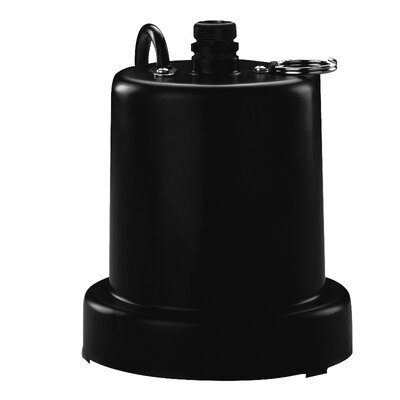 1/6 HP Heavy Duty Submersible Thermoplastic Utility Pump