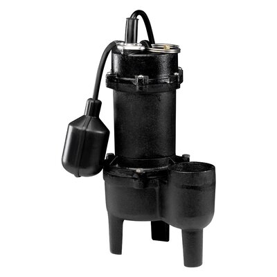 WAYNE 1/2 HP Tether Float Switch Sewage Pump