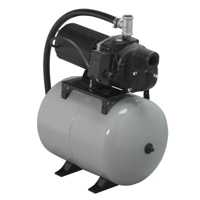 1/2 HP Shallow Well System with 8.5 Gallon Precharged Tank