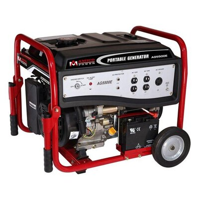 Amico Power Corp 5,000 Watt Portable Gasoline Generator