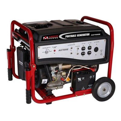 Amico Power Corp 6,000 Watt Portable Gasoline Generator