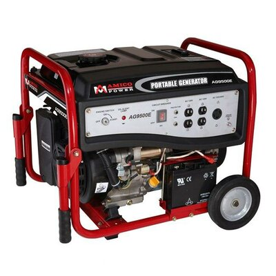 Amico Power Corp 7,250 Watt Portable Gasoline Generator