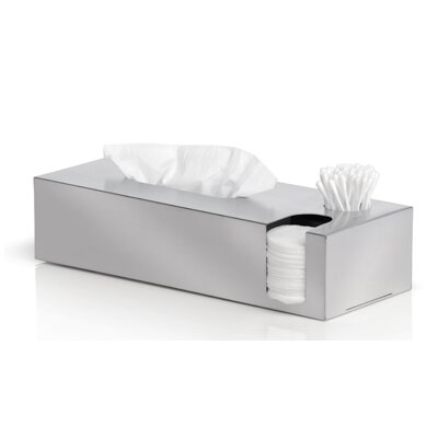 Nexio Tissue Box and Cotton Swab and Pads Dispenser