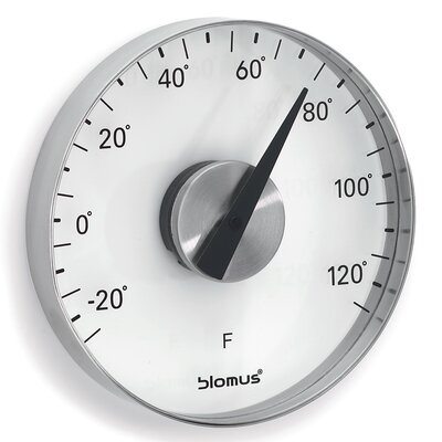 Blomus Grado Wall Thermometer in Fahrenheit by Flöz Design