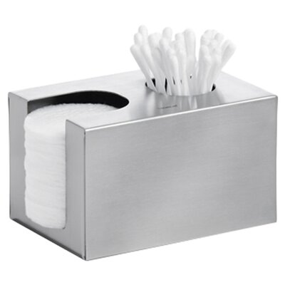 Blomus Nexio Cotton Swab and Pads Dispenser