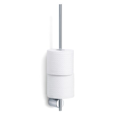 Blomus Duo Polished Wall-Mounted Toilet Roll Holder