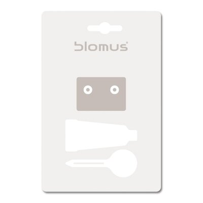 Blomus Sento Wall Mount Soap Dish with Optional Wall Mounting Kit