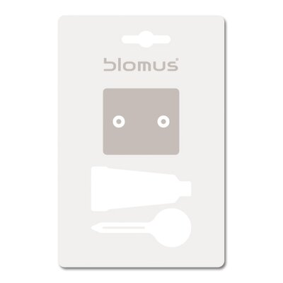"Blomus Sento 19.68"" Wall Mounted Twin Towel Bar"