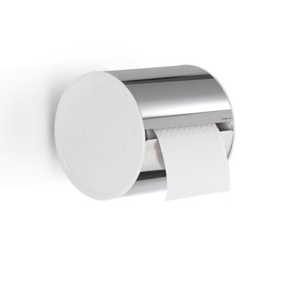 Blomus Sento Wall Mounted Closed Toilet Paper Holder