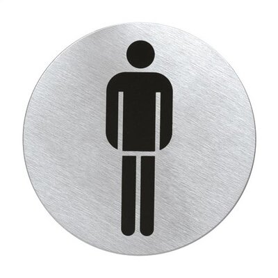 Blomus Signo Door Plate &quot;Men's Room&quot;