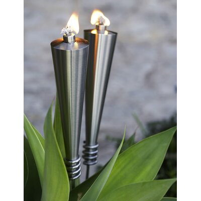 Blomus Orchos Garden Torch with Ground Support