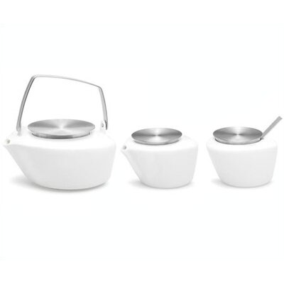 Copo Serving Pieces Set-Copo Sugar Bowl with Spoon