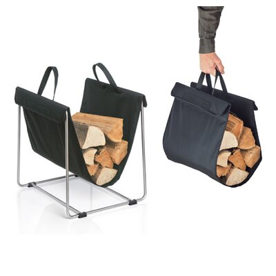 Blomus Madra Fabric Log Basket