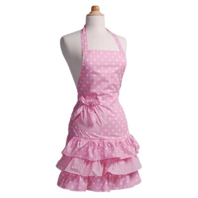 Flirty Aprons Women's Marilyn Strawberry Shortcake Apron