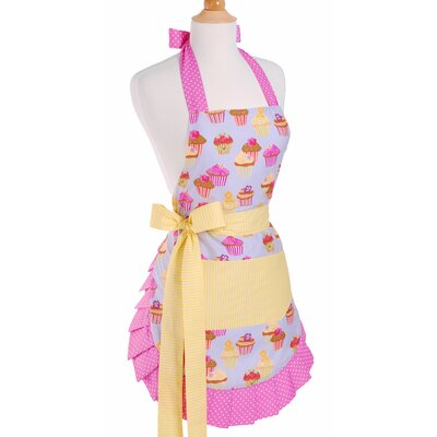 Women's Apron in Frosted Cupcake