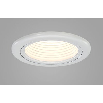 "CSL Jewel 3.6"" Adjustable Wallwash Downlight Trim with Optional Housing"