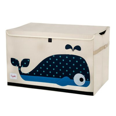 3 Sprouts Whale Toy Chest