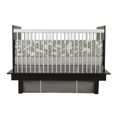 Oilo Peak-a-Boo Pleat Crib Skirt