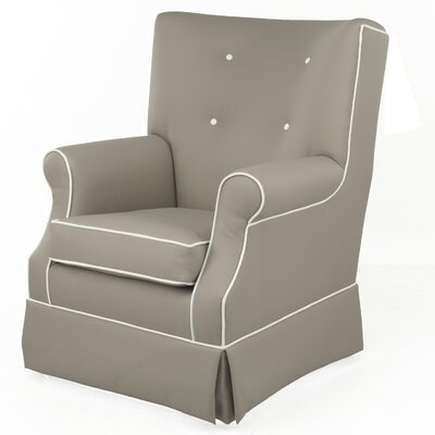 Gus Faux Leather Glider