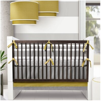 Oilo Triple Band Crib Bedding Collection