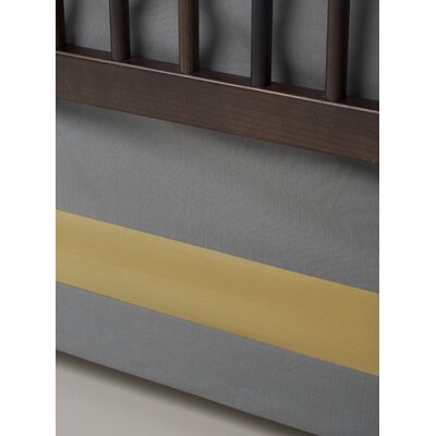Oilo Solid Band Crib Skirt