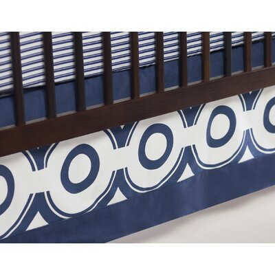 Oilo Wheels Crib Skirt