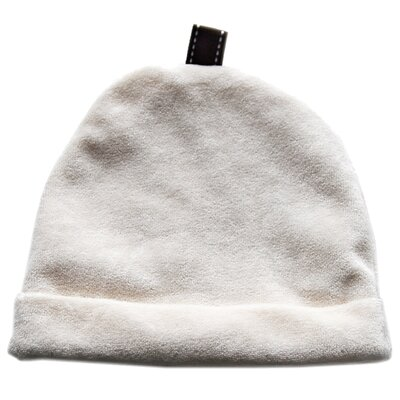 Satsuma Designs LLC Bamboo Velour Infant Hat in Natural
